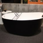 Free-standing tubs have gained in popularity and now come in sizes to fill all kinds of bathrooms.