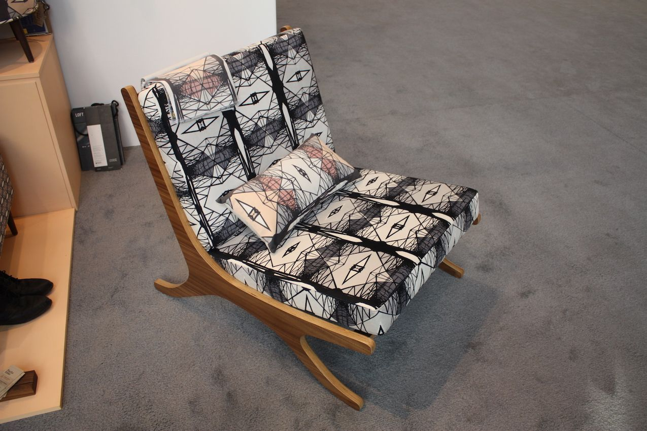 Modern graphics are limited edition prints, perfect for modern chair designs.