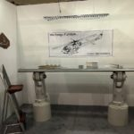 Former helicopter parts take on new life as furniture and decor pieces.