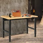 Goplus Adjustable Workbench
