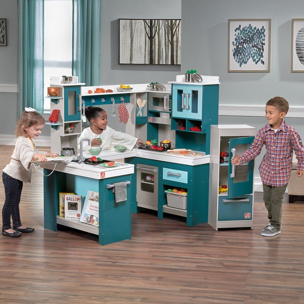 Realistic Play Kitchen Ultimate Corner With Lights And: Kids Kitchen Sets That Stir The Imagination