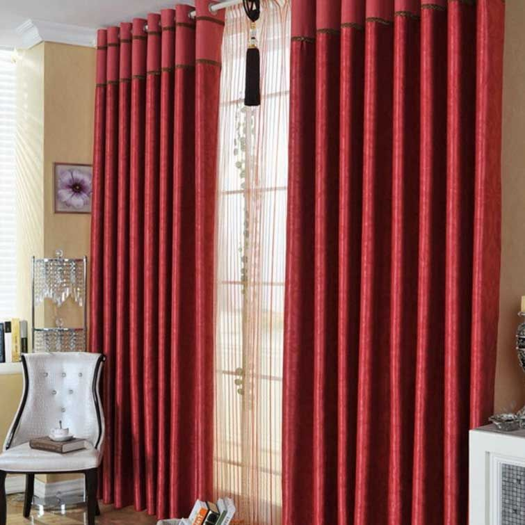 Grommet curtains eliminate the need for additional rings.