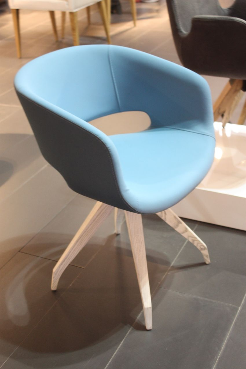 """This chair from <a href=""""http://www.gyllos.gr"""">Gyllos</a> is stylish and comfortable for conversing or as a dining chair."""