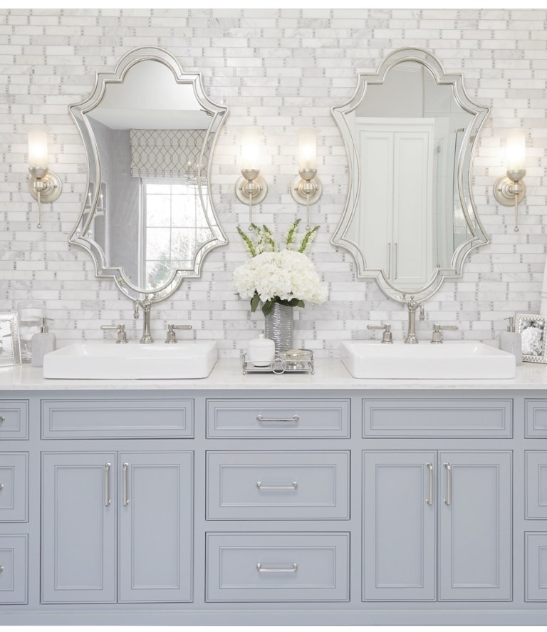 his and her sinks refresh white bathroom