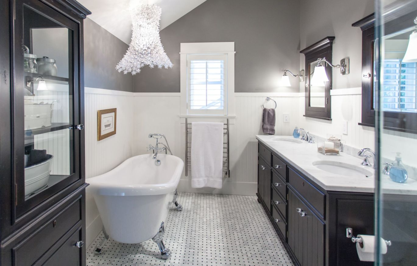 Bathroom wainscoting what it is and how to use it - Bathroom remodel ideas with wainscoting ...