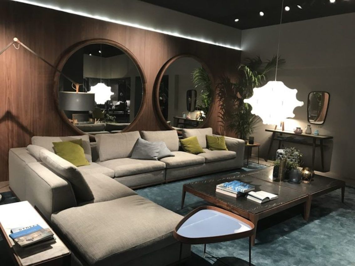 New styles and designs for all rooms are on display at IMM Cologne.