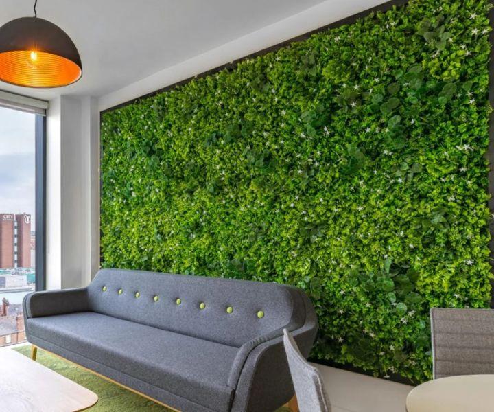 neutral wall art Indoor Plant Wall