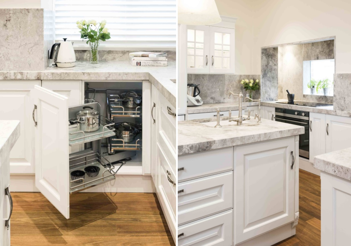 20 Corner Cabinet Ideas That Optimize Your Kitchen Space