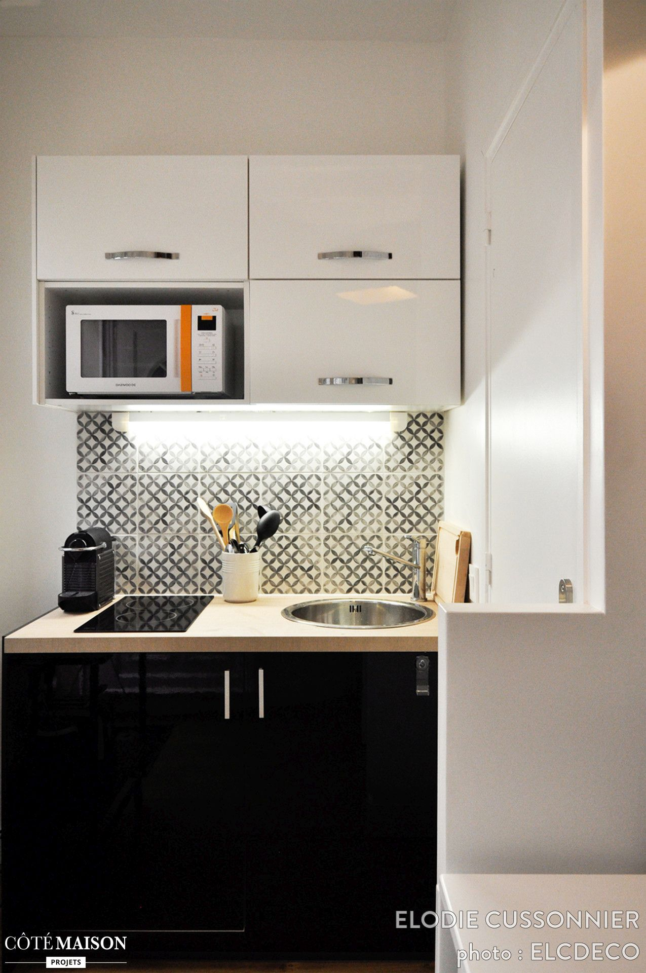 10 ways to make the most of your kitchenette. Black Bedroom Furniture Sets. Home Design Ideas