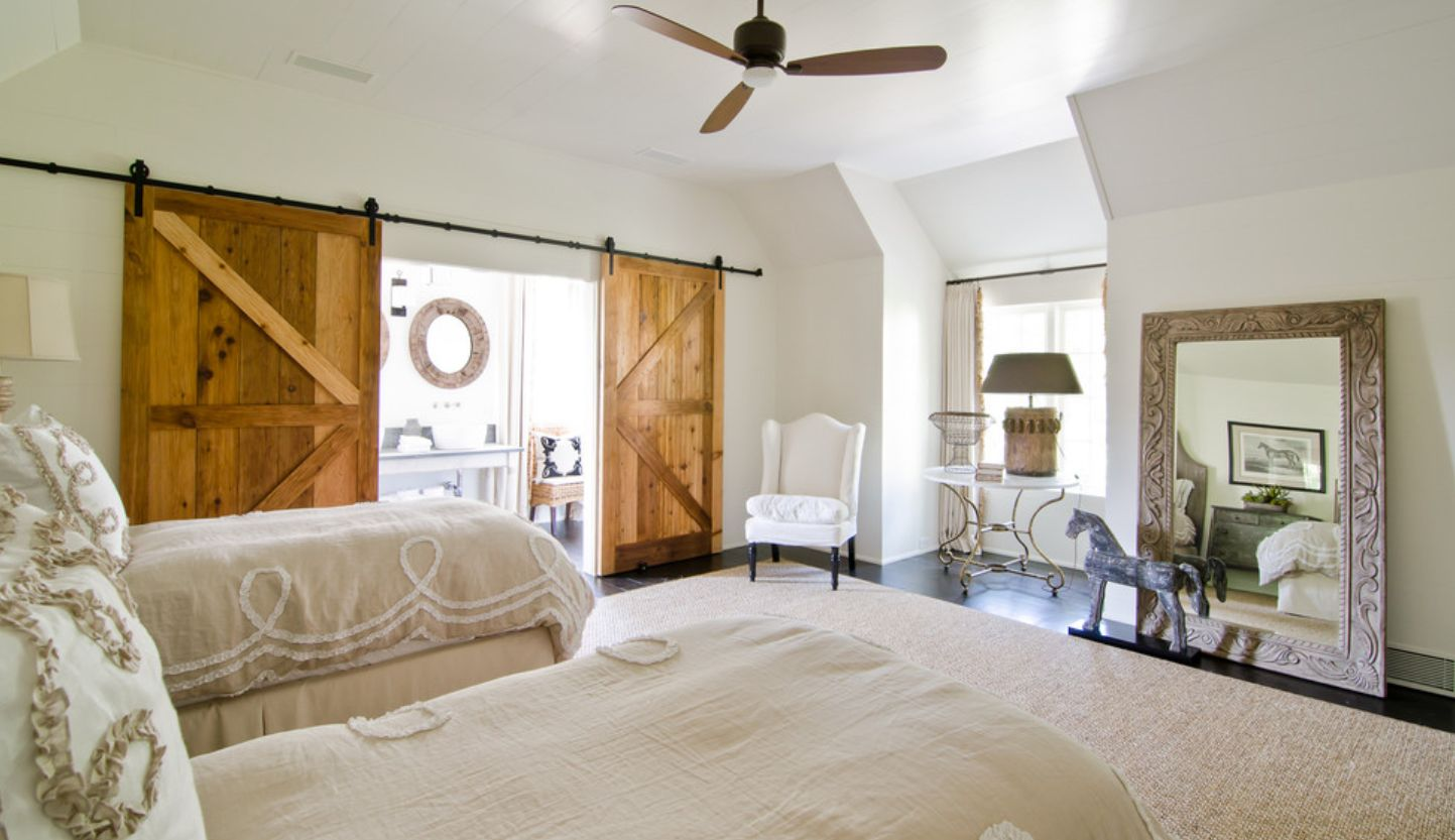 dramatic sliding doors separate. The Effect Can Be Significantly More Dramatic When Two Barn Doors Are Used Instead Of Only One. Check Out This Cool Farmhouse Bedroom And Sliding Separate M