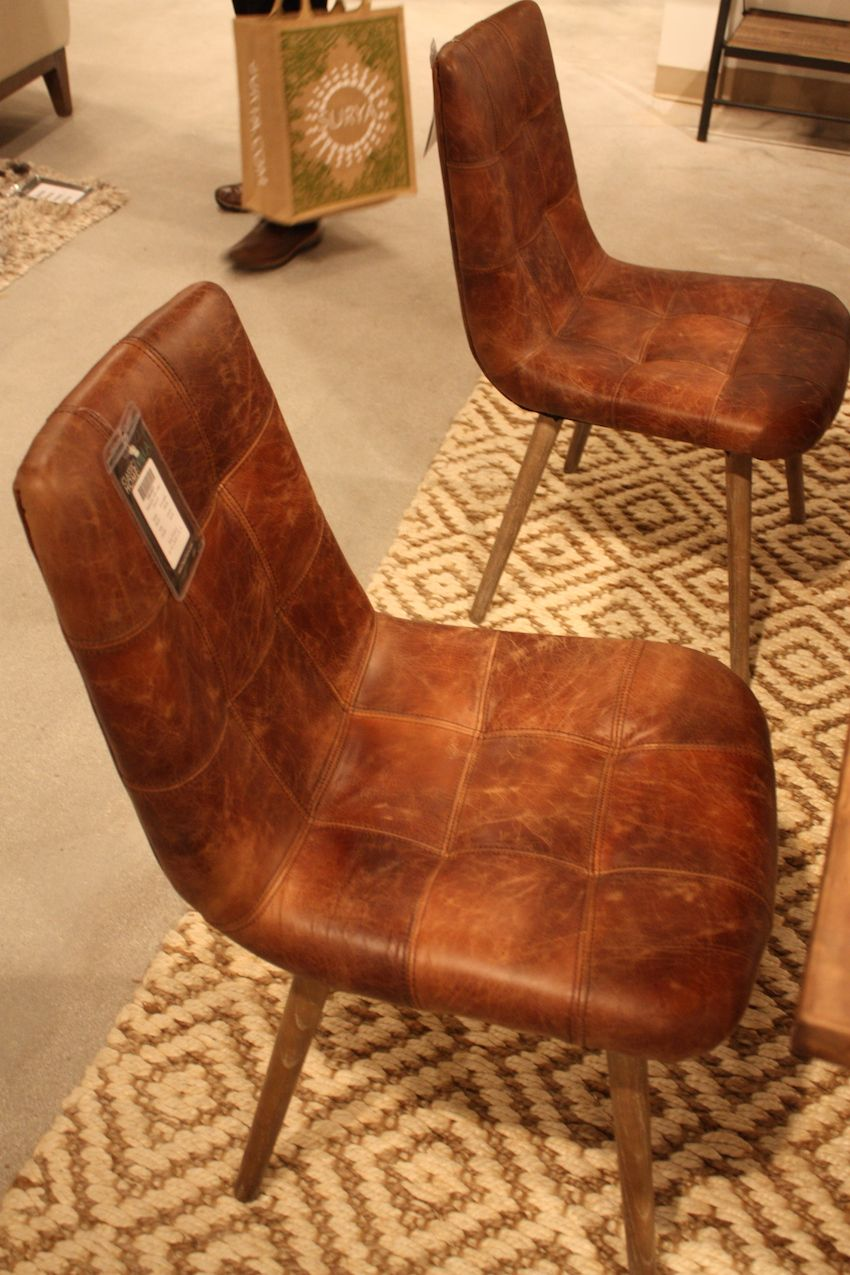 Rustic leather is gaining popularity and designers are embracing its natural flaws as unique features.
