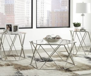 How To Bring Glamour Into The Living Room With A Silver Coffee Table