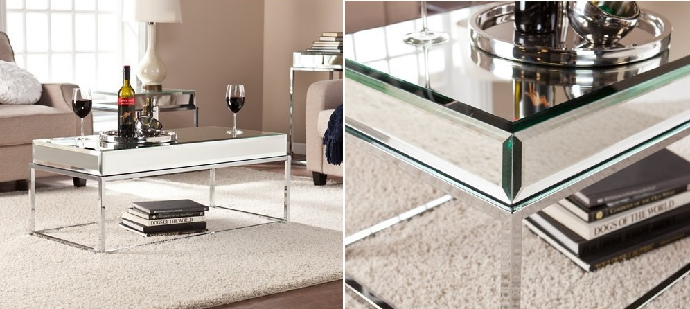 Mirrored Coffee Table - The Glamorous Accent Every Living Room Needs