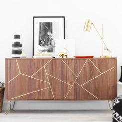 Modern ikea sideboard HACK