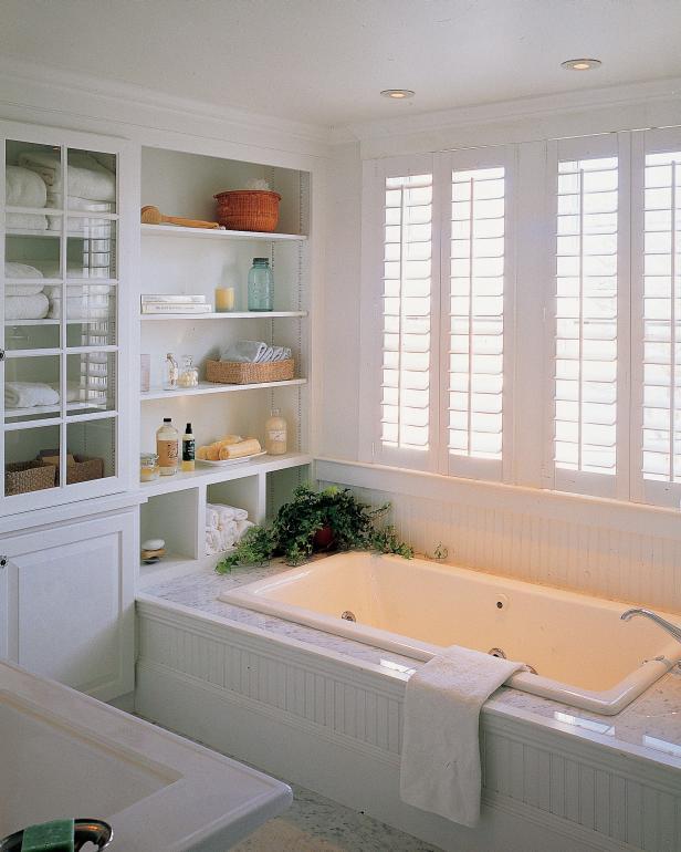 mood lighting refresh white bathroom