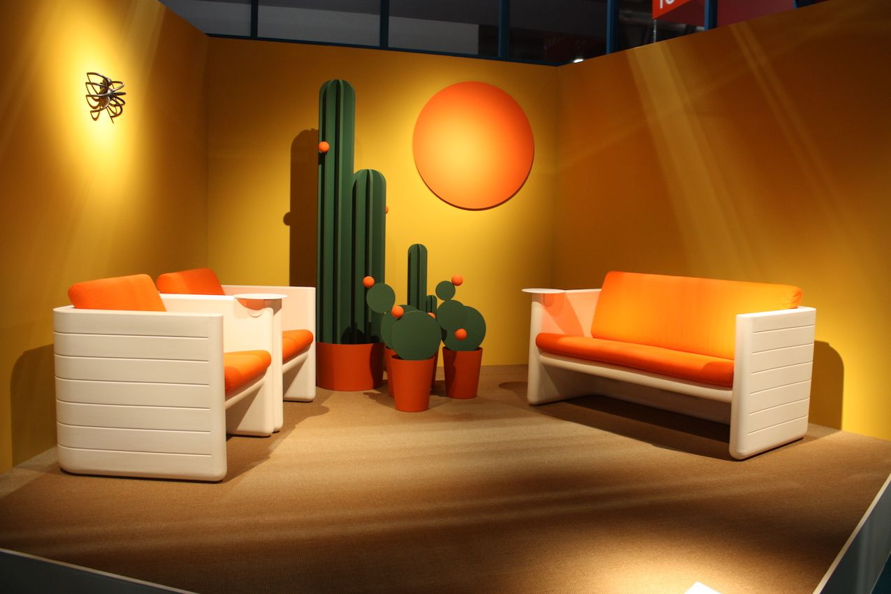 All the world's important brands, like Pedrali, show at Salon del Mobile in Milan.
