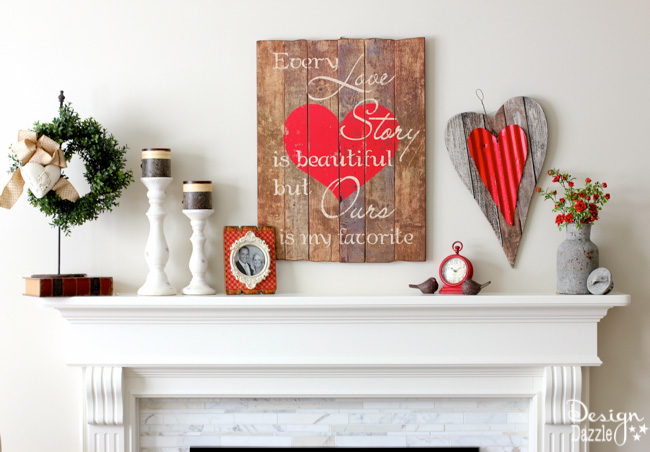 Lovely Crafts For A Perfect Valentineu0027s Day Decor