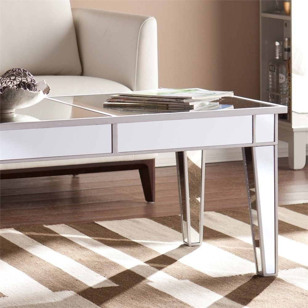 How To Bring Glamour Into The Living Room With A Silver Coffee Table Amazing Pictures