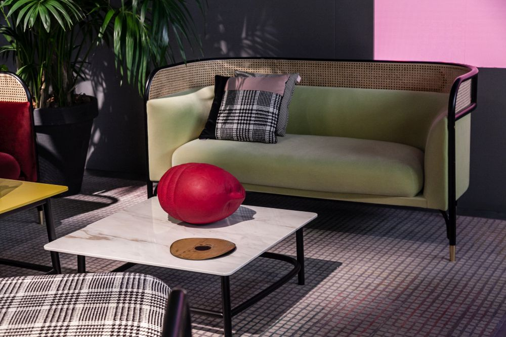 If The Sofa Has An Unusually Thick And Fluffy Cushion Coffee Table Should Match