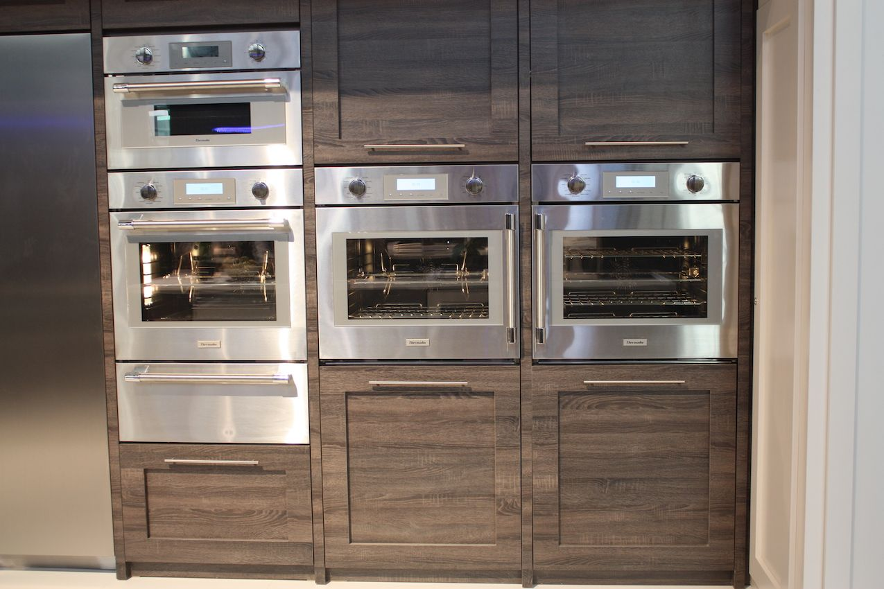 Wall units are more flexible in many kitchen designs.