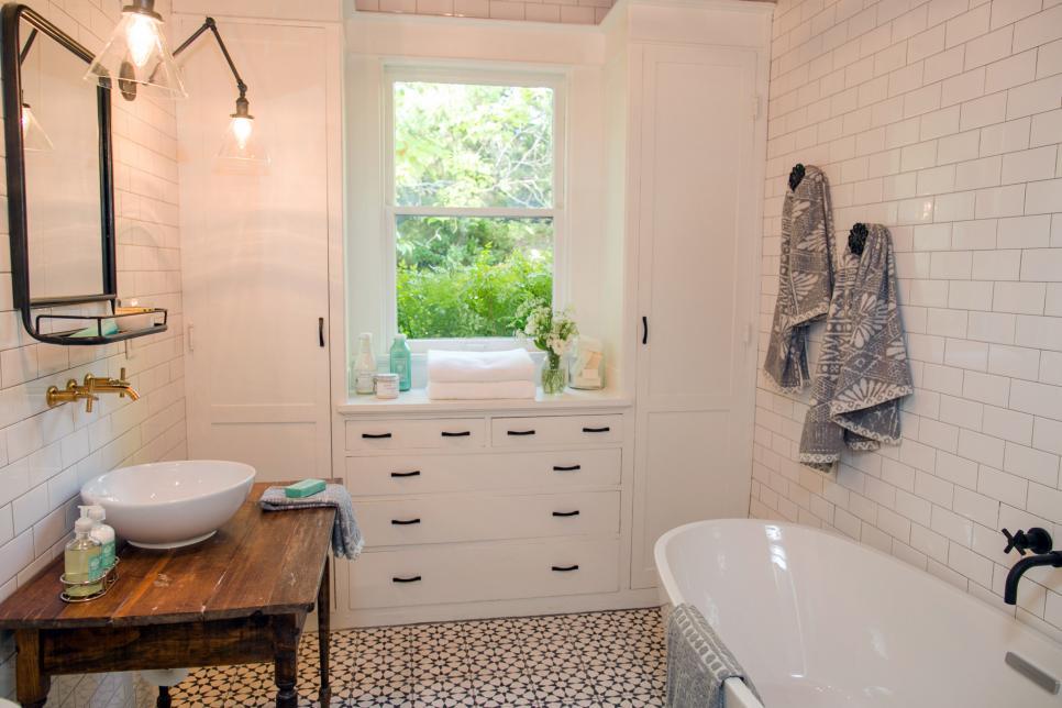 Vessel Sink refresh white bathroom
