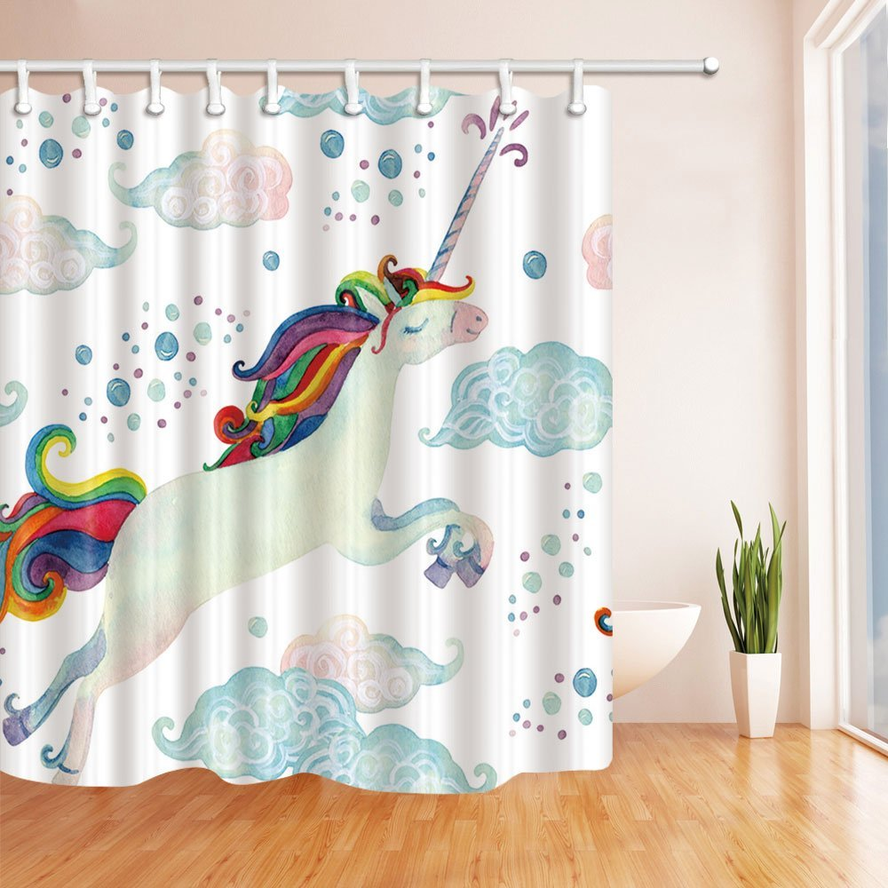 30 Kids Shower Curtains With Cute Funny And Colorful Designs