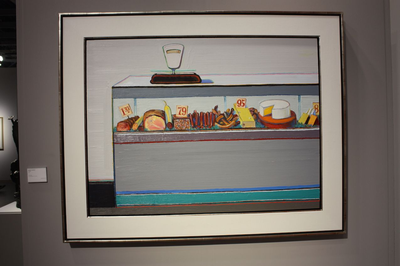 Food has always figured in still life paintings, but lately is cropping up in more pop art and modern pieces.