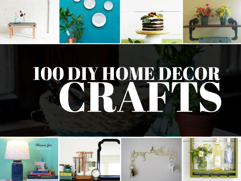 100 Unbelievably Cheap DIY Home Decor Crafts
