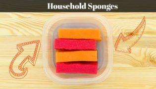 5 Hacks for Using Household Sponges