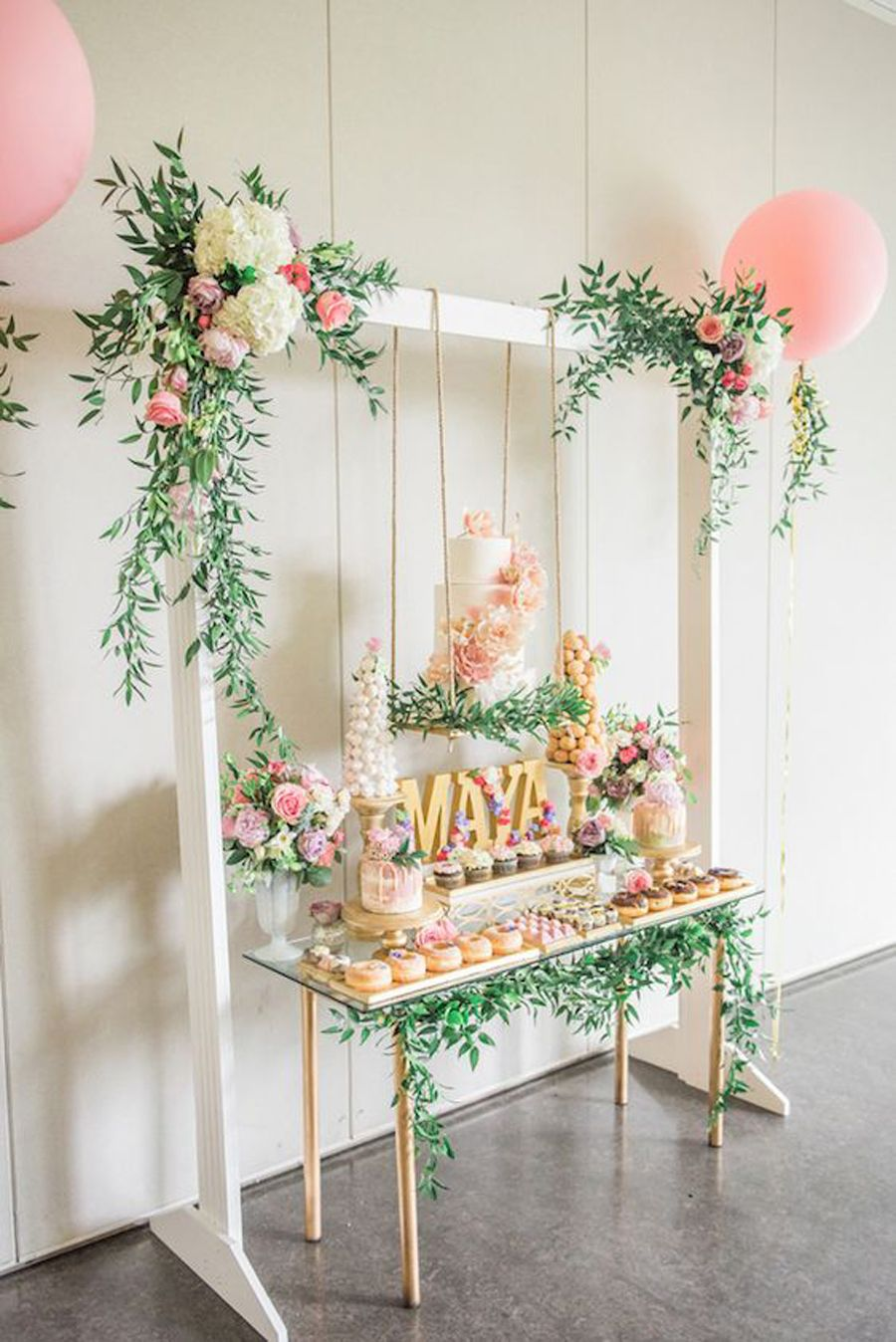 15 decorations for the sweetest girl baby shower for Table design for 1st birthday