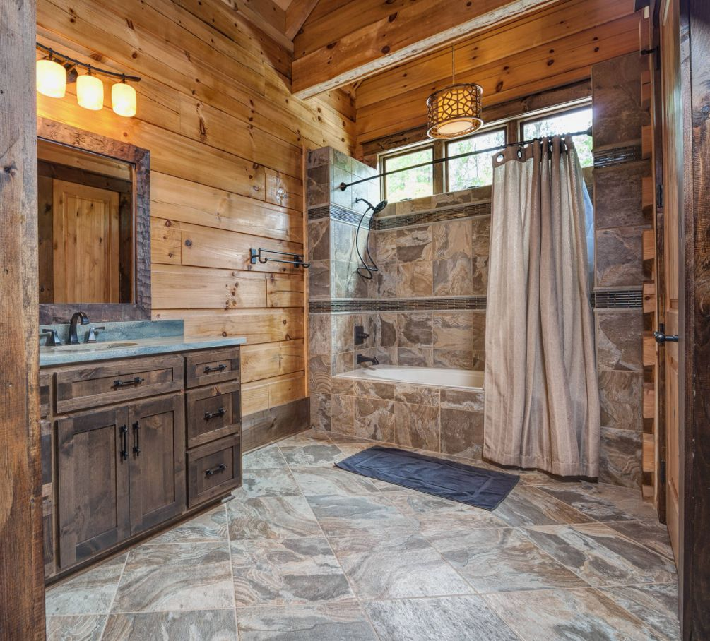 Rustic bathroom ideas inspired by nature 39 s beauty for Bathroom ideas rustic