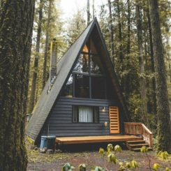 Beautiful A Frame Cabin Design