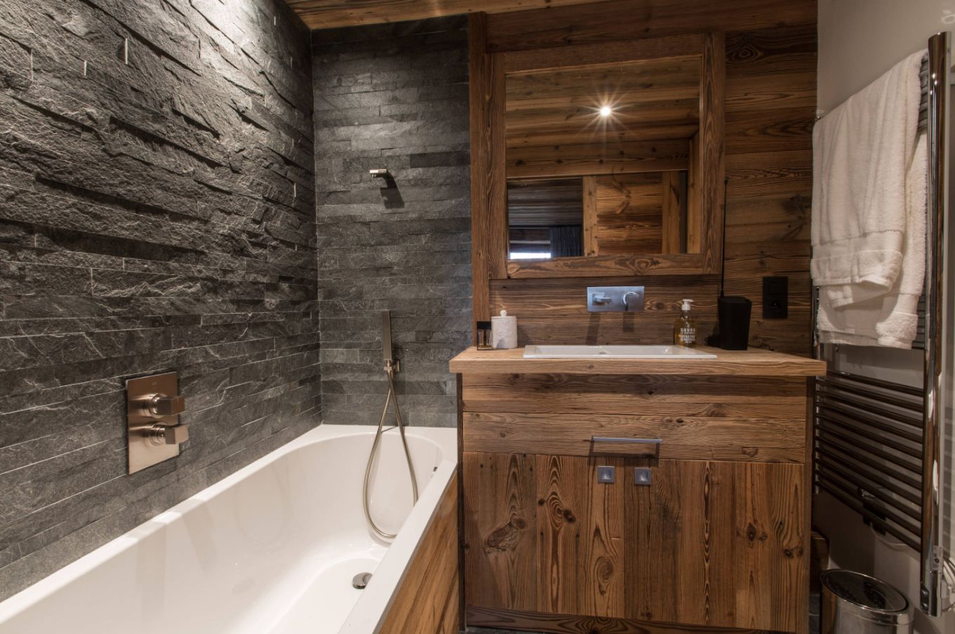 view in gallery - Rustic Bathroom