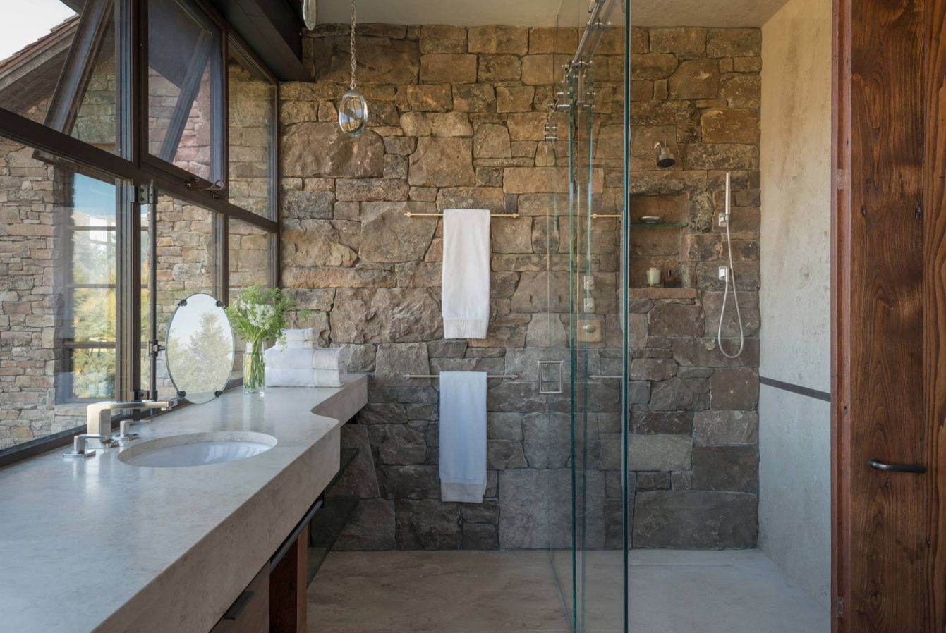 Rustic Bathroom Ideas Inspired By Nature S Beauty Obsigen