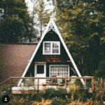 Cottage a frame design