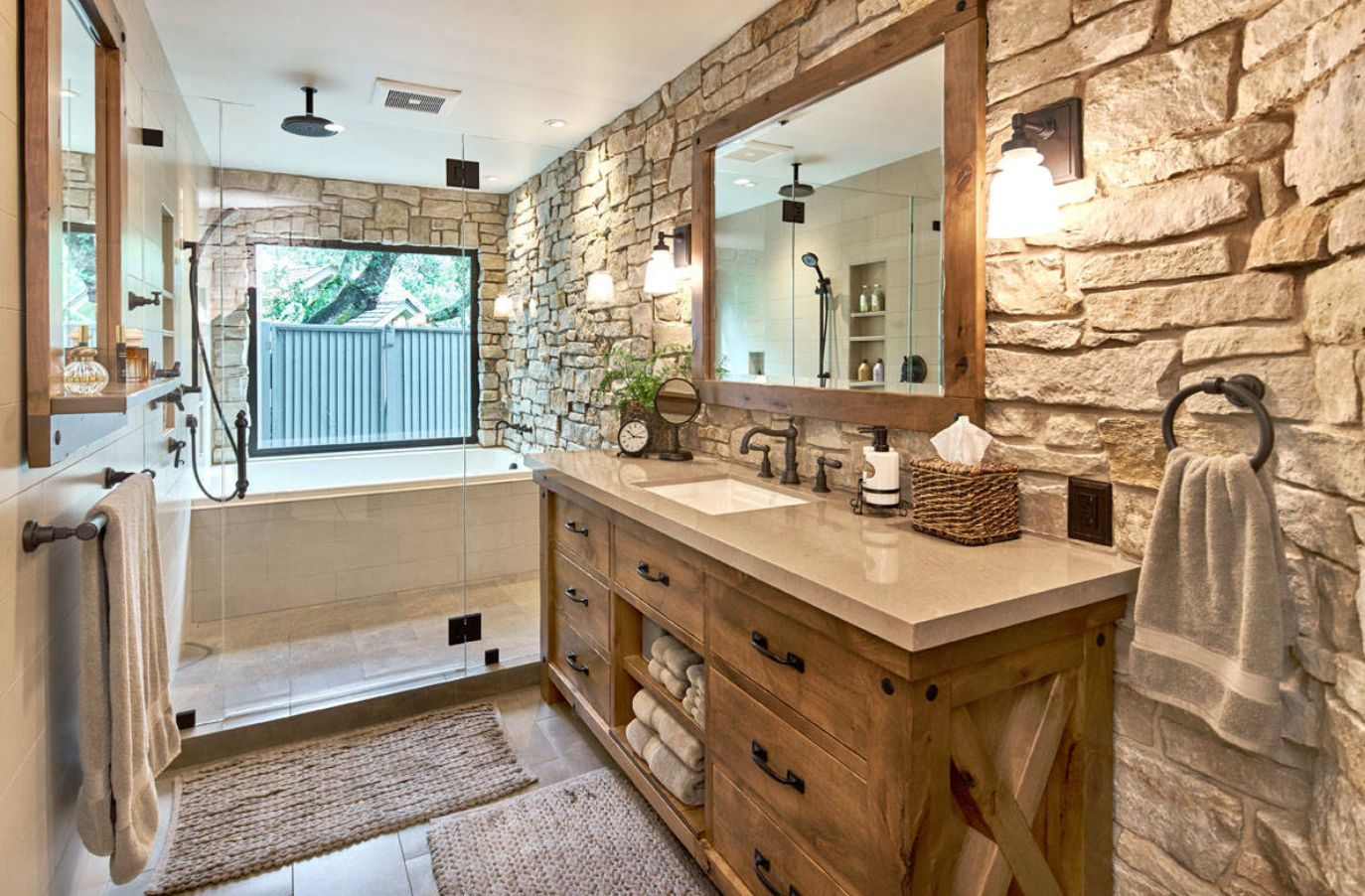 rustic bathroom design ideas rustic bathroom ideas inspired by nature s beauty 2516
