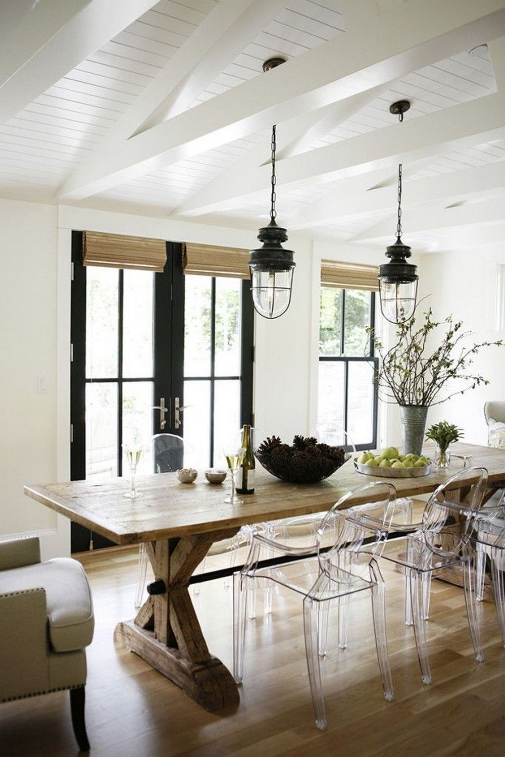 view in gallery - Farmhouse Kitchen Table