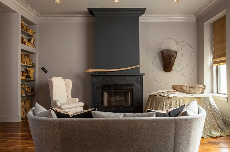 Fireplace Living Room Design Latest From Michael Del Piero