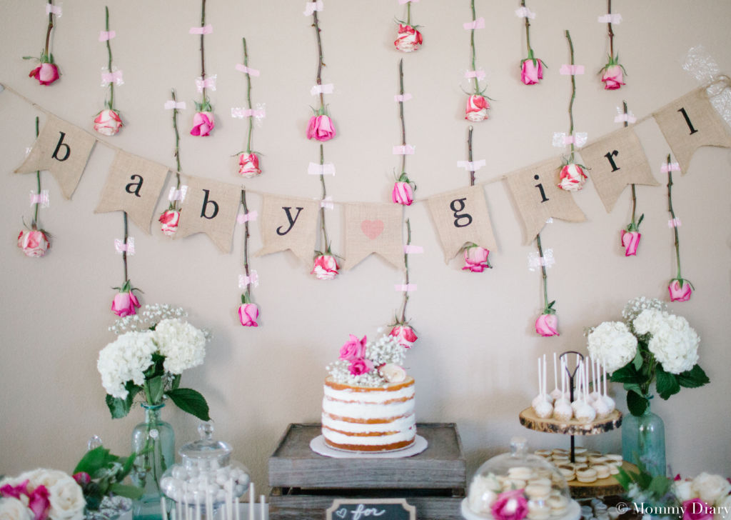 15 decorations for the sweetest girl baby shower. Black Bedroom Furniture Sets. Home Design Ideas