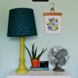 Lampshade With Fabric DIY