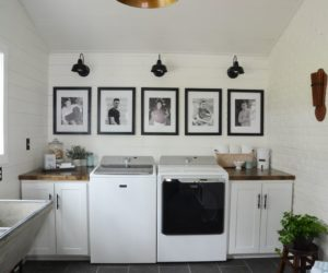 10 Ideas For Laundry Room Wall Decor