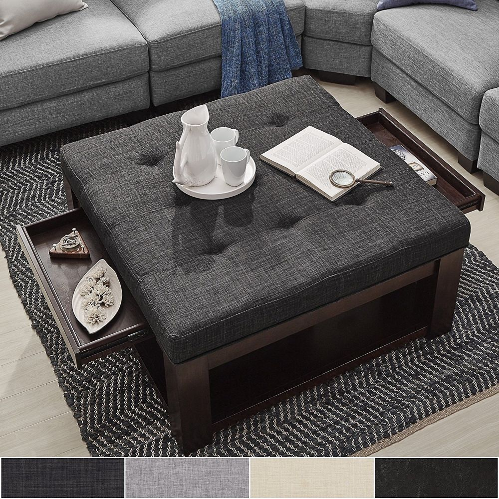 Coffee Table Ottoman.Ottoman Coffee Table Ideas It S Time To Go Hybrid