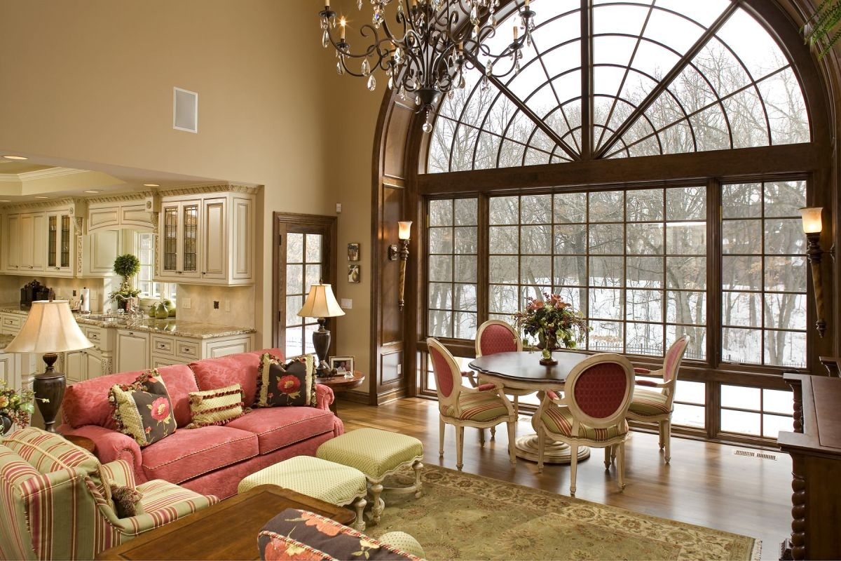 Choose types of windows that add comfort and style for Types of living room windows