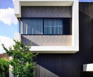 Modern Curb Appeal And An Open Plan Make Melbourne Duplex Distinctive