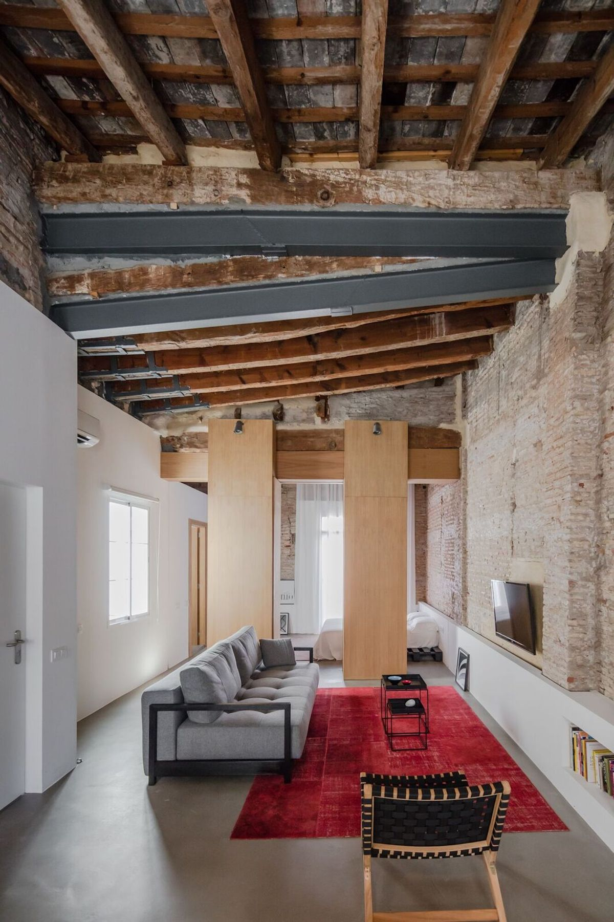 Apartment Renovation Exposes A Rich History Captured In Layers Of  Transformation Nice Ideas