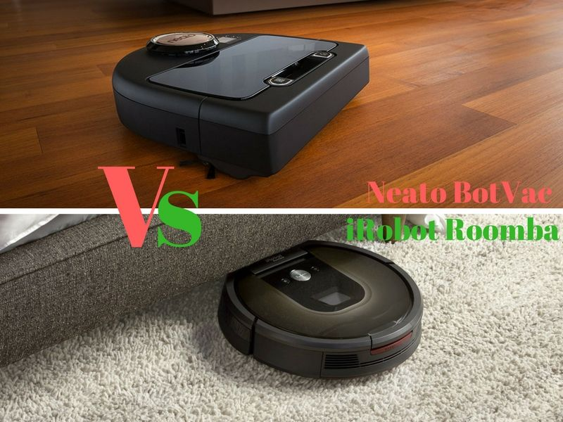 neato botvac vs irobot roomba 980 which robot vacuum is. Black Bedroom Furniture Sets. Home Design Ideas