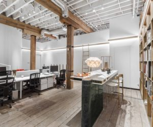 Friendly Office Interior Shaped By A Strong Connection With The Past