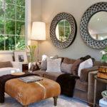 Ralston Avenue Residence by Urrutia Design - cowhide ottoman