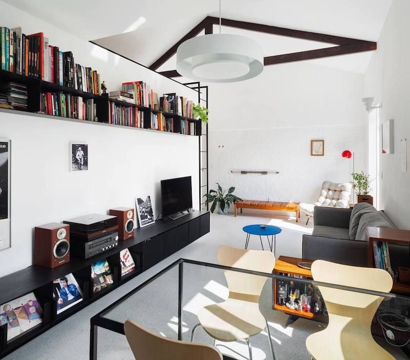 Small Apartment Gets Reorganized With Minimal Structural Interference