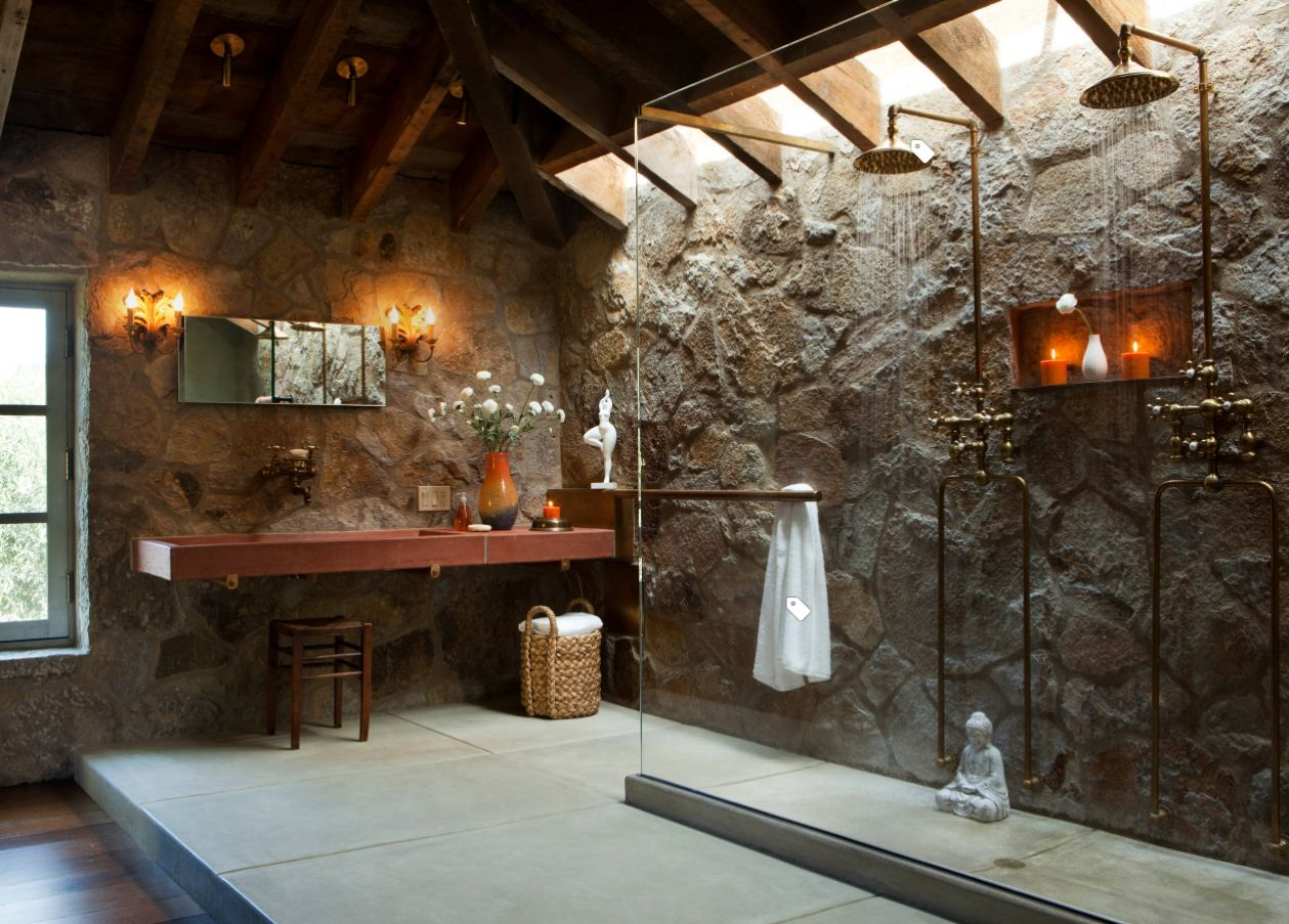 Rustic Bathroom Designs: Rustic Bathroom Ideas Inspired By Nature's Beauty